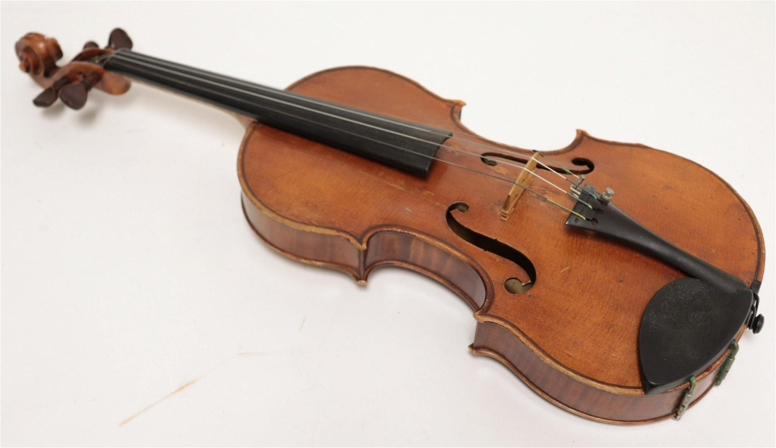 Thomas L. Fawick Violin with 3 Bows
