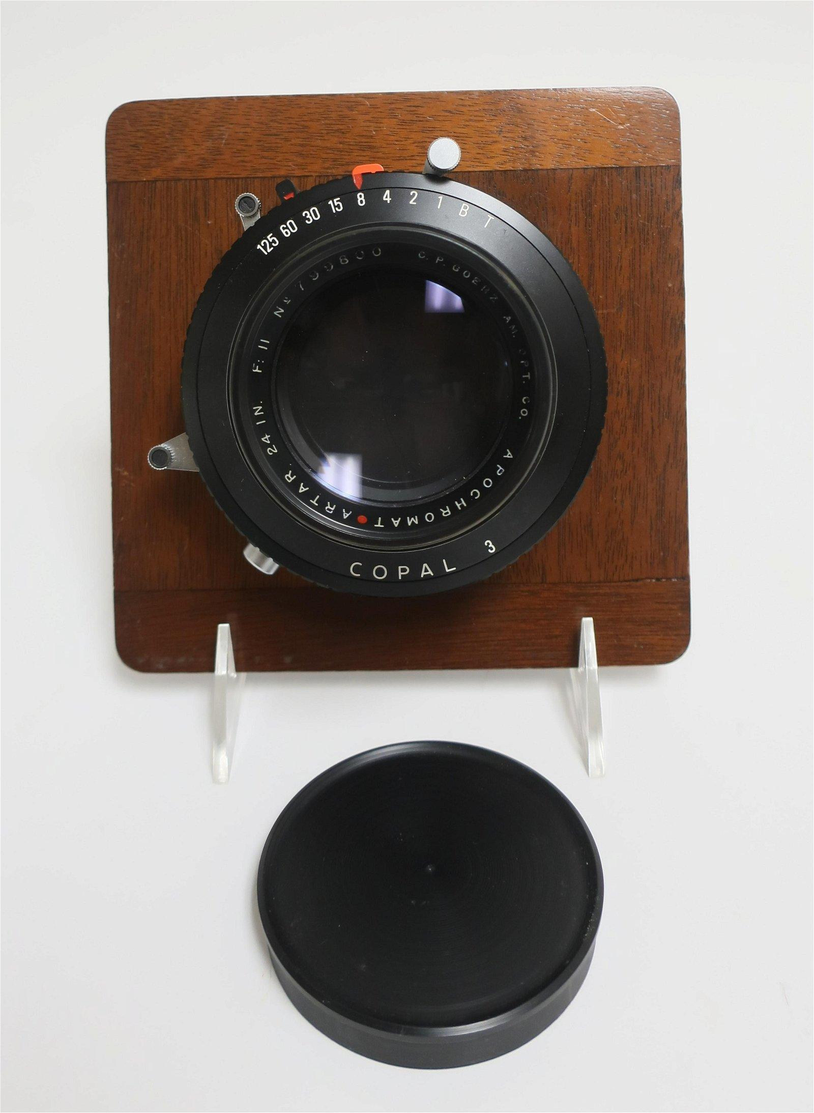O.P. Goerz Large Format Camera Lens, f11