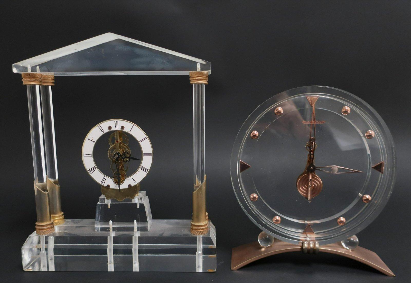 Jaeger LeCoultre Desk Clock & Other Clock