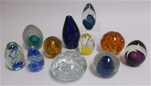 Large Glass Paperweights