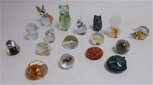 NaturePaperweights in Glass Acrylic