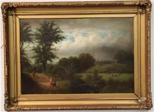 Isaac L. Williams, Am, Landscape, O/B