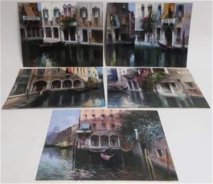 Claudio Simonetti 5 Venetian Canal Scenes