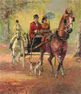 Ludwig Gschossmann Horse Drawn Carriage