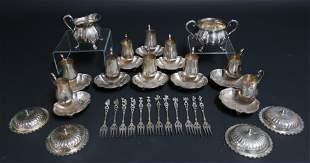 28 Pieces of 800830 Silver