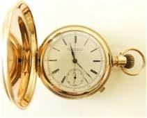 Patek Philippe for Shreve 14K Pocket Watch c 1883