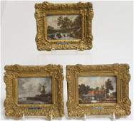 17th C. Dutch Artist Style Framed Pictures