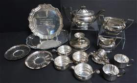 Sterling, Silverplated Serving Items