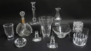 Glass Group - Baccarat, Steuben, Orrefors, Tiffany