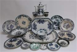 22 Mulberry & Other English Ironstone Transferware