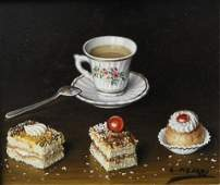 Lima Pizarro - Still Life with Pastries