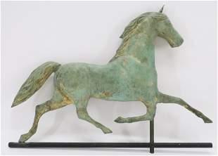Trotting Horse Weathervane, 19th - E 20th C
