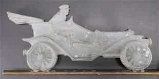 Antique Car Weathervane, 20th C.