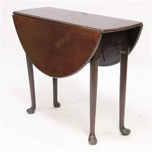 George III Mahogany DropLeaf Table