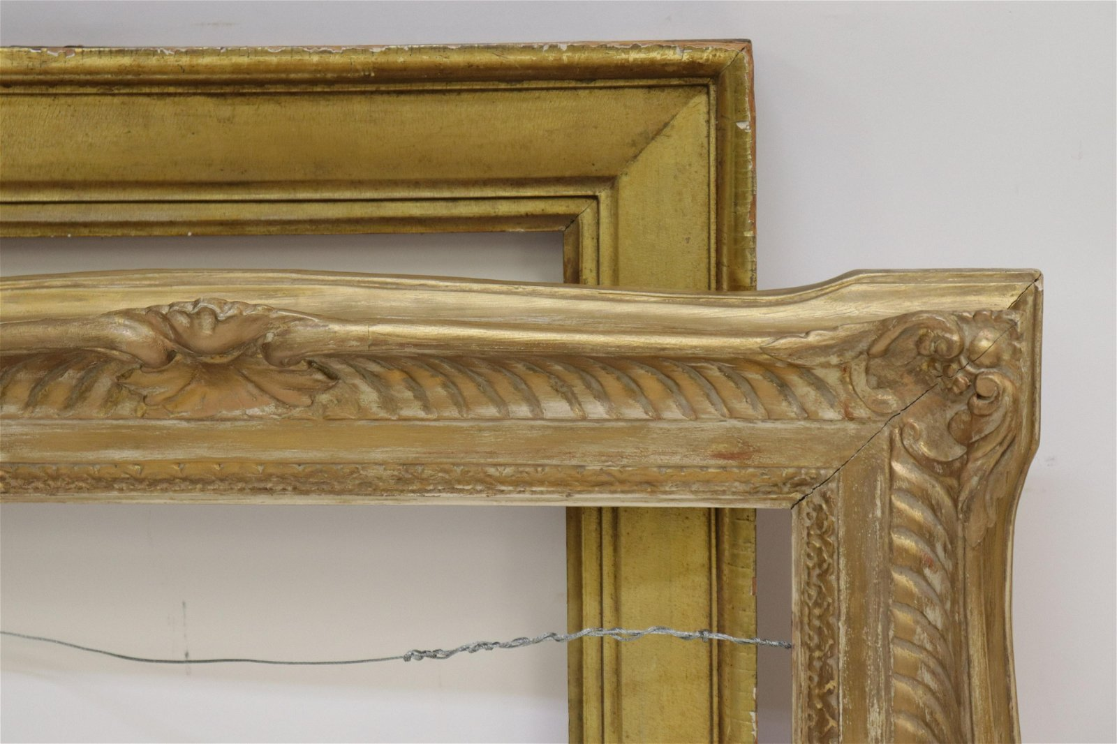 Louis XV Style Gilt Wood Frame and other