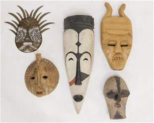 5 AfricanIndonesian Face Masks