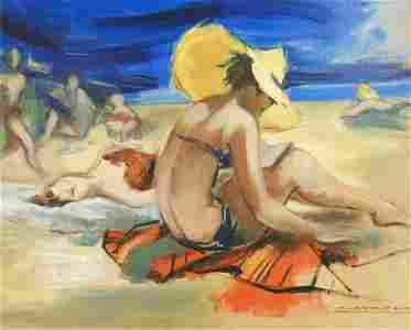 Montserrat Barta - Beach Goers