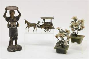 4 Asian Decorative Objects