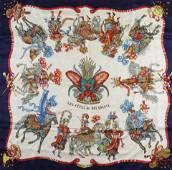 Hermes Silk Scarf - Les Fetes Du Roi Soleil