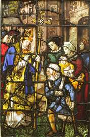 Stained Glass Window, Bishop, Germany, c.1520-30