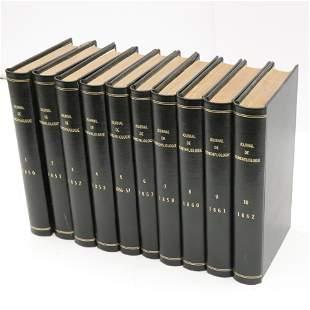 Journal de Conchyliologie185062 Vols 110