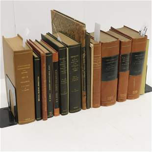 Natural History Bibliography 16 volumes