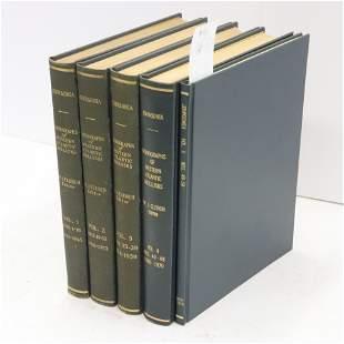 Johnsonia Monographs ed By WJ Clench