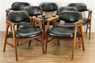 7 ECK  Adams Corp. Mid Century Modern Arm Chairs