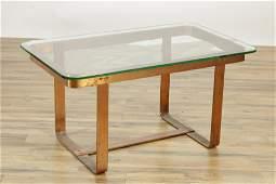 1970's Copper Coffee Table