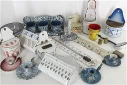 Group Vintage Kitchen Enamel Ware