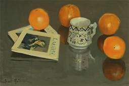 Rafael Griera - Oranges Still life