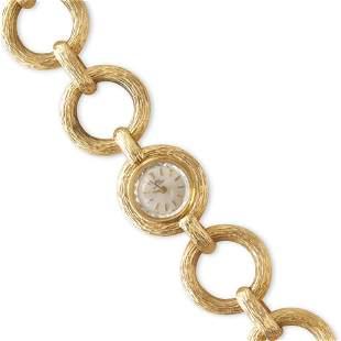 Bucherer - Lady's 18k Gold Link Watch