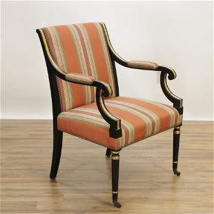 Regence Style Open Arm Chair