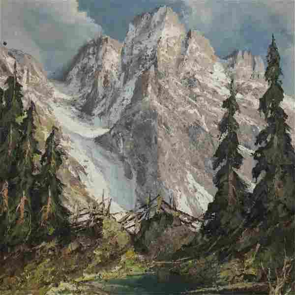 Herbert August Uerpmann - Alpine Landscape