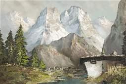 Herbert August Uerpmann - Mountian Landscape