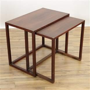 Swedish Nesting Tables, Karl Erik Ekselius Design