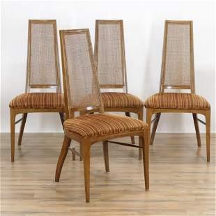 4 Mid-Century Modern Lane Altavista Dining Chairs