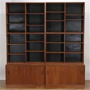 Nils Jonsson DOMI Teak Bookcases