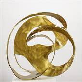 Harold Harris, Untitled, brushed metal