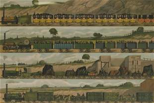 Travelling Liverpool & Manchester Railway 1831