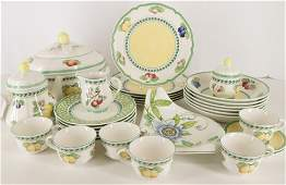 Villeroy & Boch Partial Dinner Svc & Others
