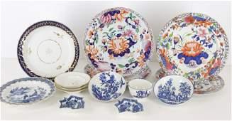 English Porcelain & Ironstone, 18th & 19th C.