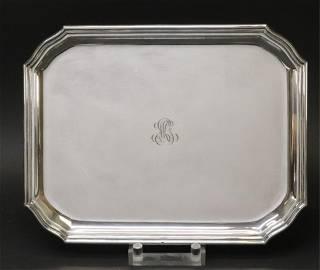 Emile Puiforcat Sterling Silver Tray