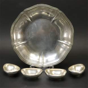 Arthur Stone Handmade Silver Bowl + Glendenning