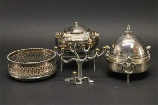 Gorham & Christofle Silverplate Group