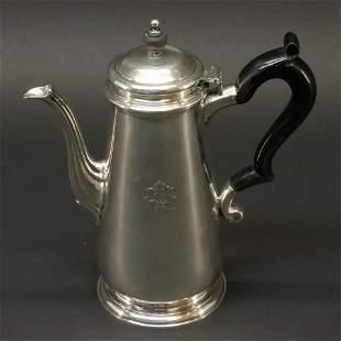 Tiffany & Co Sterling Silver Coffee Pot