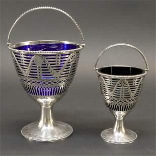 George III Aldridge & Green Sugar Baskets