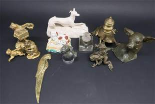 11 Animal Theme Table Top Objects