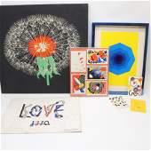 Modern Works, Calder, Yves Saint Laurent, others