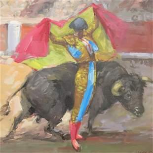 Jose Puente - Fighting the Bull